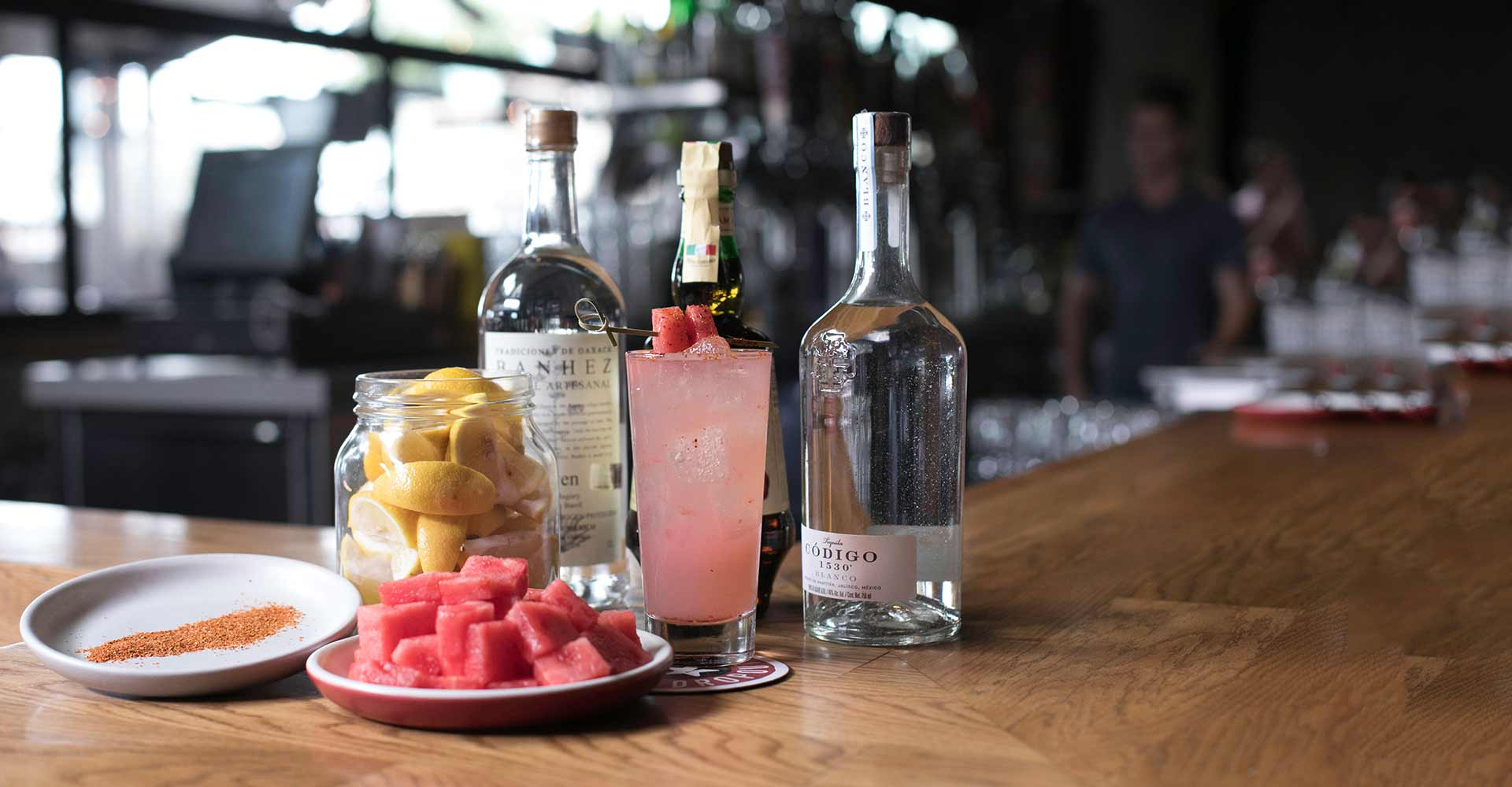 #Snappchat with Mat Snapp, Watermelon Mezcal Sour